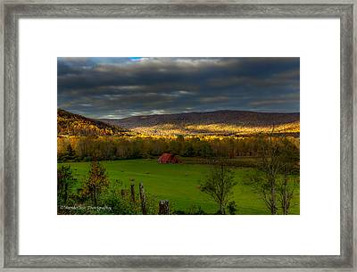 Grassy Cove Tennessee Framed Print by Paul Herrmann
