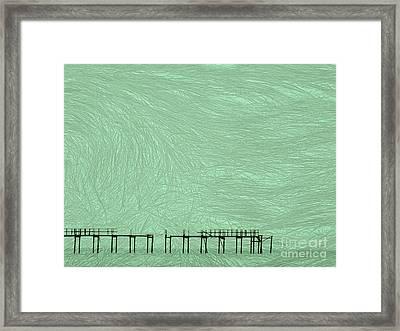 Grassy Flats Framed Print by Joy Angeloff