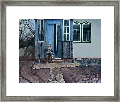 Great Grandfather Framed Print by Kateryna Kurylo