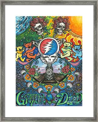 Grateful Dead Fantasy Framed Print