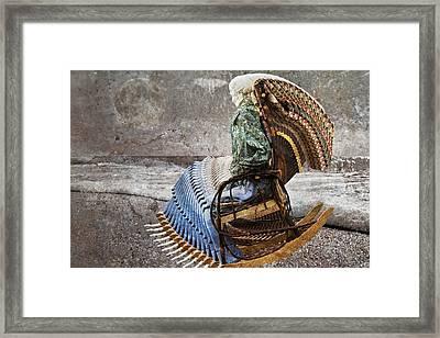 Grateful Dead Rock Framed Print by Betsy Knapp