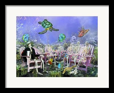 Different Groups Digital Art Framed Prints