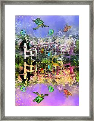 Grateful Get Together Framed Print