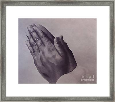 Grateful One Framed Print