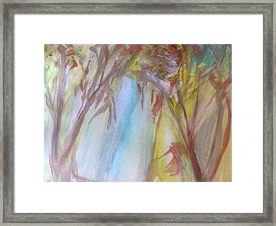Gratitude Framed Print by Judith Desrosiers