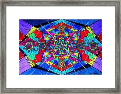 Gratitude Framed Print by Teal Eye  Print Store