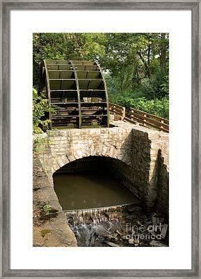 Graue Mill Grist Mill Framed Print by Glenn Morimoto