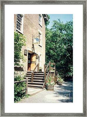 Graue Mill Framed Print by Laurie Eve Loftin