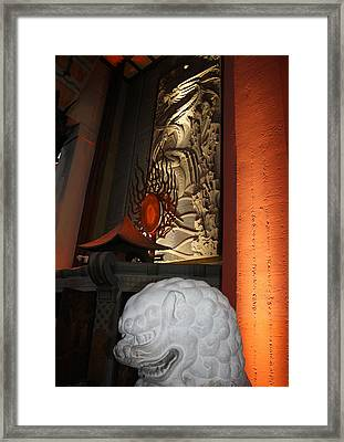 Grauman's Chinese Theatre Framed Print by David Nicholls