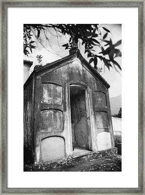 Framed Print featuring the photograph Grave by Amarildo Correa
