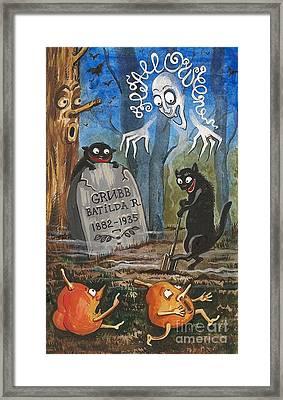 Gravediggers Framed Print by Margaryta Yermolayeva