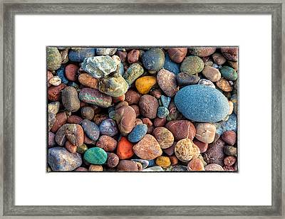 Gravels Framed Print