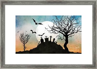 Graveyard Hill Framed Print by Bedros Awak