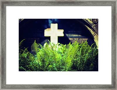 Graveyard Framed Print by Wladimir Bulgar