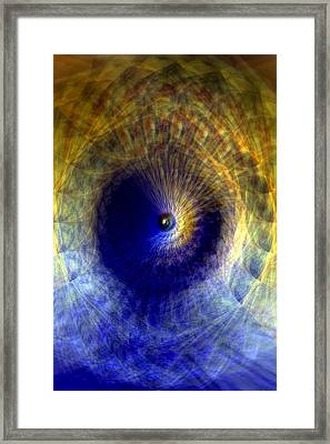 Framed Print featuring the photograph Gravitation by Martina  Rathgens