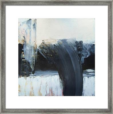 Gravity And Morality Framed Print by Alan Taylor Jeffries