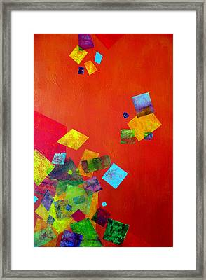 Gravity Is Only A Theory Framed Print by Jim Whalen