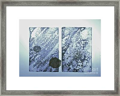 One World Framed Print