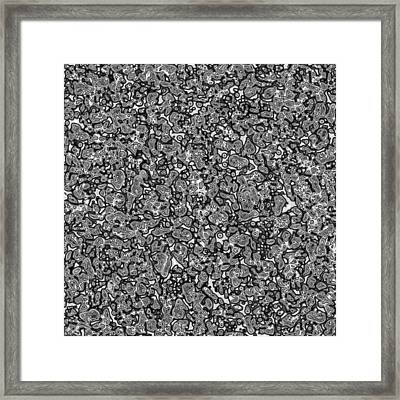 Gray #1 Framed Print by George Curington