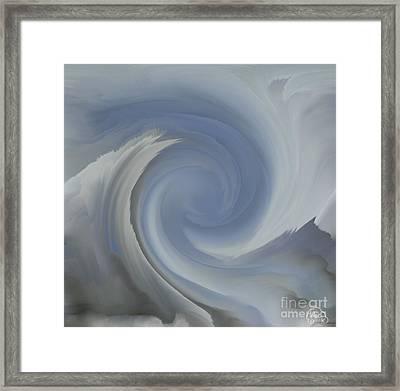 Gray Day Framed Print by Patricia Kay