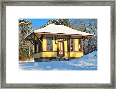 Gray Gables  Framed Print by Catherine Reusch Daley