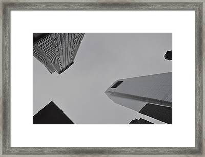 Gray Is The New  Framed Print by Brynn Ditsche