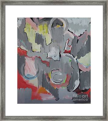Gray Framed Print by Jay Manne-Crusoe