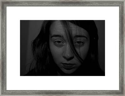 Gray Looks Framed Print