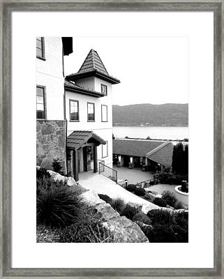 Gray Monk Estate Winery Framed Print by Will Borden