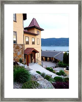Gray Monk Winery Framed Print by Will Borden