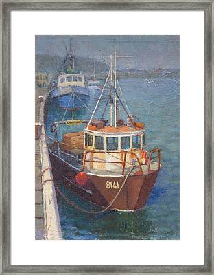 Gray Mouth 1980s Framed Print by Terry Perham