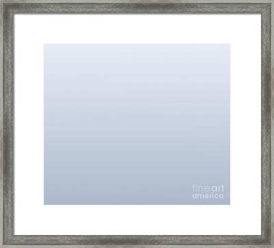 Gray Square Framed Print