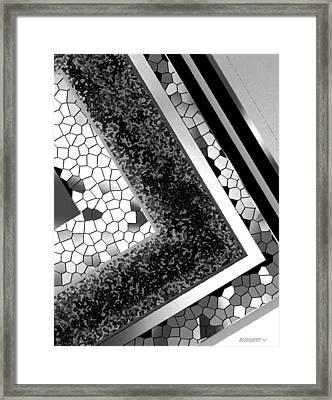 Gray Tone Framed Print by Mario Perez