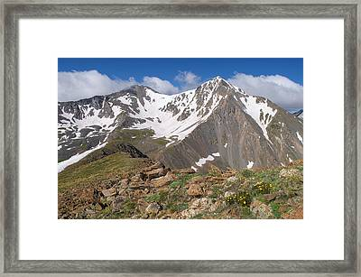 Grays And Torreys Peak Framed Print