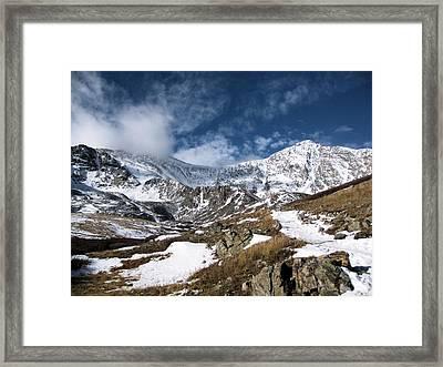 Grays And Torreys Peaks Framed Print