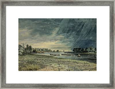 Grays Ferry Circa 1858 Framed Print by Aged Pixel