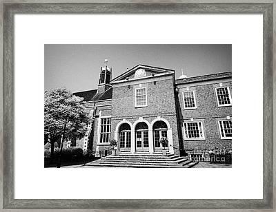 grays inn hall London England UK Framed Print by Joe Fox