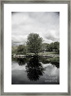 Grays Mill Pond Framed Print
