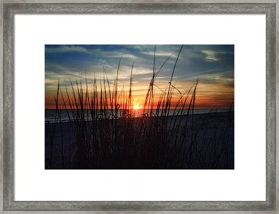 Grayton Beach Sunset 3 Framed Print