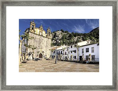 Grazalema Town Hall Square Framed Print