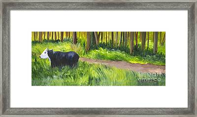 Grazing Framed Print by Maria Williams