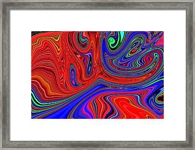 Greased Lightning Framed Print