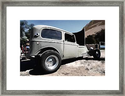 Greaserama 2011 Framed Print by Liane Wright