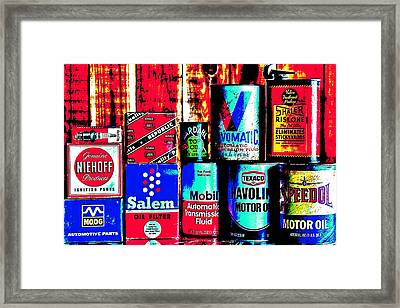 Greasy Framed Print by Benjamin Yeager