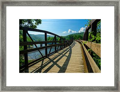 Great Allegheny Passage Framed Print