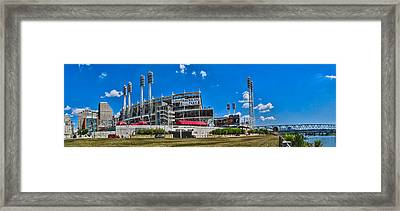 Great American Ball Park Framed Print