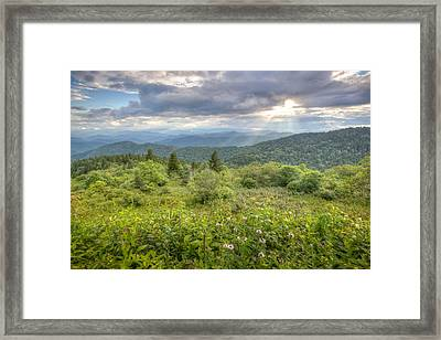 Great Balsam Mountains Framed Print by Doug McPherson