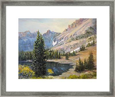 Great Basin Nevada Framed Print by Donna Tucker