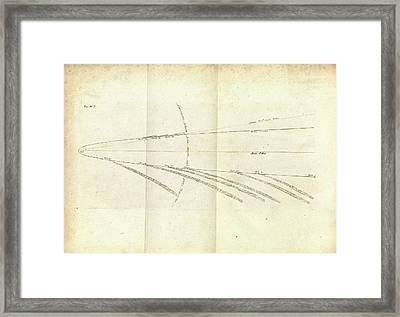 Great Comet Of 1680 Framed Print
