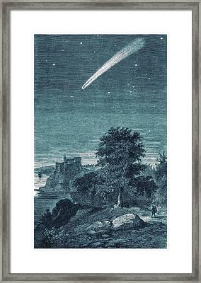 Great Comet Of 1811 Framed Print by Detlev Van Ravenswaay